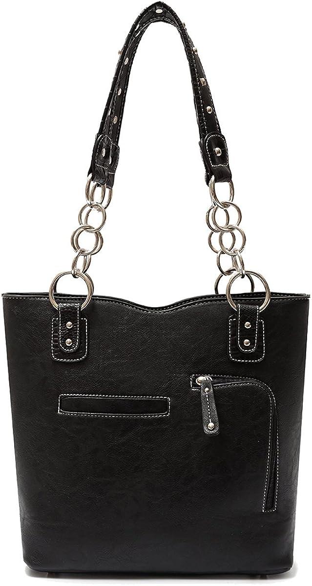 PU Leather Fashion Bag Elegant Purse Womens Carry Cross