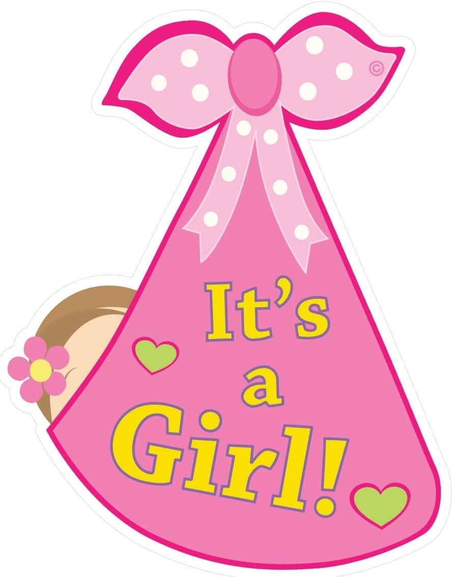 Amazon Com Cute News It S A Girl Baby Door Decoration Sign Welcome Stork Birth Announcement Hanger Hospital Newborn Keepsake Wreath Shower Art Gender Reveal Pink Home Kitchen