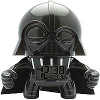 "Bulb Botz 2020008 Reloj Despertador para Niños, Star Wars Darth Vader, 7.5"" Tall, Color Negro"