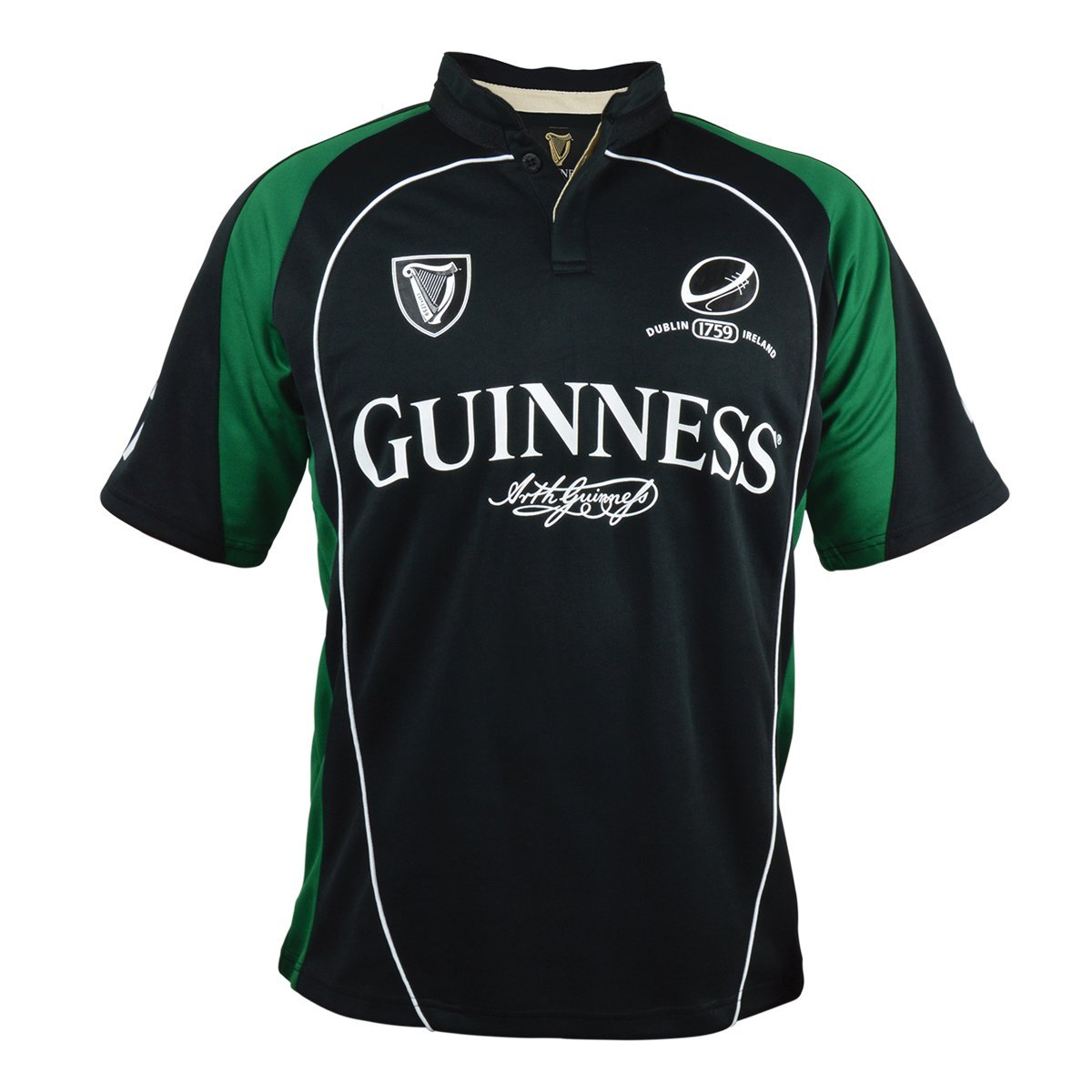 Guinness Official Merchandise SHIRT メンズ B07BY7RM35  Small