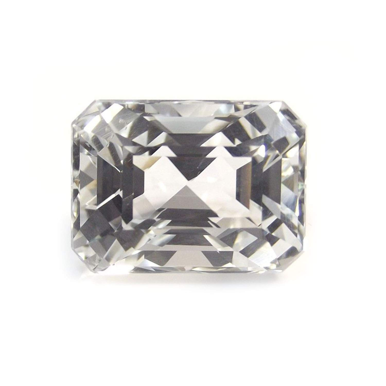 Neerupam collection Natural Nigerian White Topaz AAA quality 12X10 mm Octagon shape loose gemstone, Natural Nigerian White Topaz loose gemstone for jewelry making