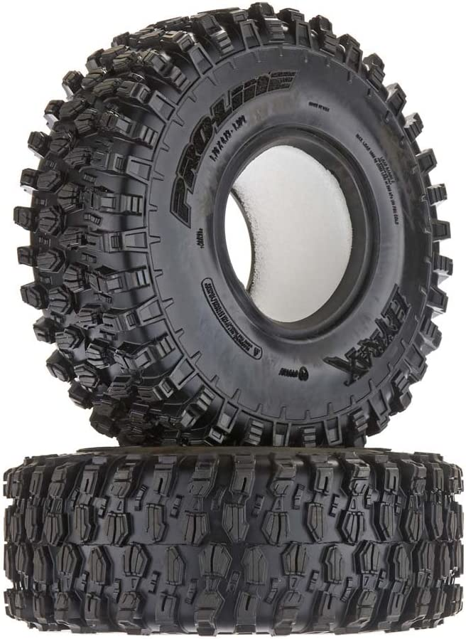 """Pro-Line Racing Proline 1012814 Hyrax 1.9"""" G8 Rock Terrain Truck Tires (2) for Crawlers, Front Or Rear"""
