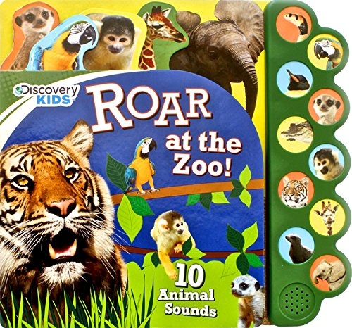 Discovery Kids Roar at the Zoo Sound Book