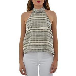 Stylestalker Willow Top in Stripe (Medium, Stripe)
