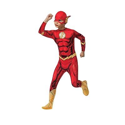 Rubies DC Universe Flash Costume, Child Medium: Toys & Games