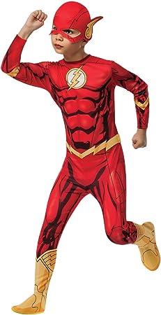 Rubies - Disfraz Marvel The Avengers El Flash para niños, 117 cm ...