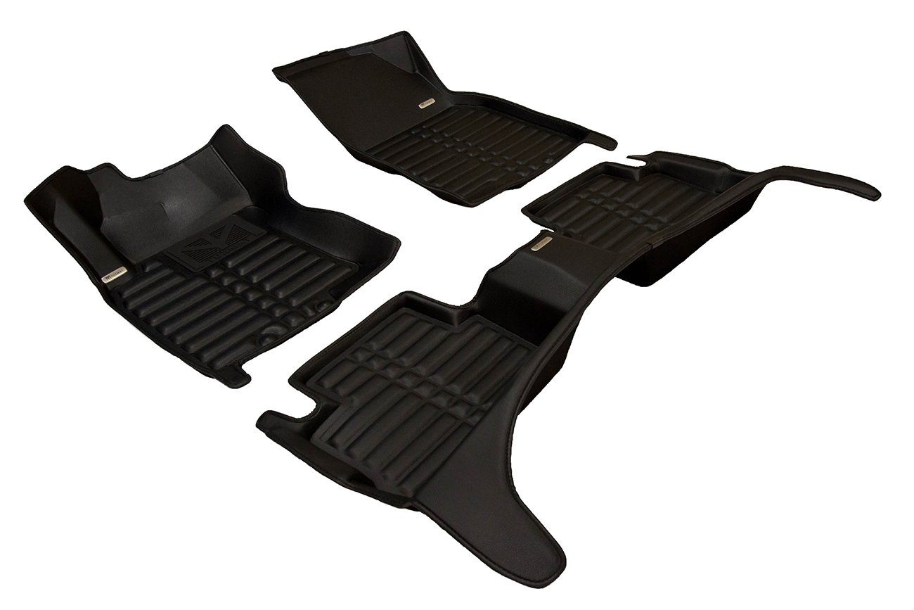 The Ultimate Winter Mats Also Look Great in the Summer./The Best/Nissan Qashqai Accessory. Full Set - Black All Weather TuxMat Custom Car Floor Mats for Nissan Qashqai 2017-2020 Models/- Laser Measured Waterproof Largest Coverage