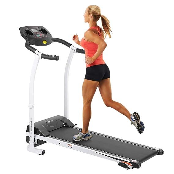 YESPER - Cinta de Correr eléctrica Runner Fitness Dispositivo Home de Entrenamiento doméstico Correr con Pantalla LCD (126 * 59 * 109 cm): Amazon.es: ...