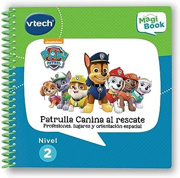 VTech – Patrulla Canina Libro para Magibook, Multicolor (3480-480222)