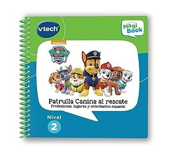 VTech MagiBook Patrulla Canina, Paw Patrol Libro Interactivo Educativo Que refuerza el Aprendizaje en Diferentes