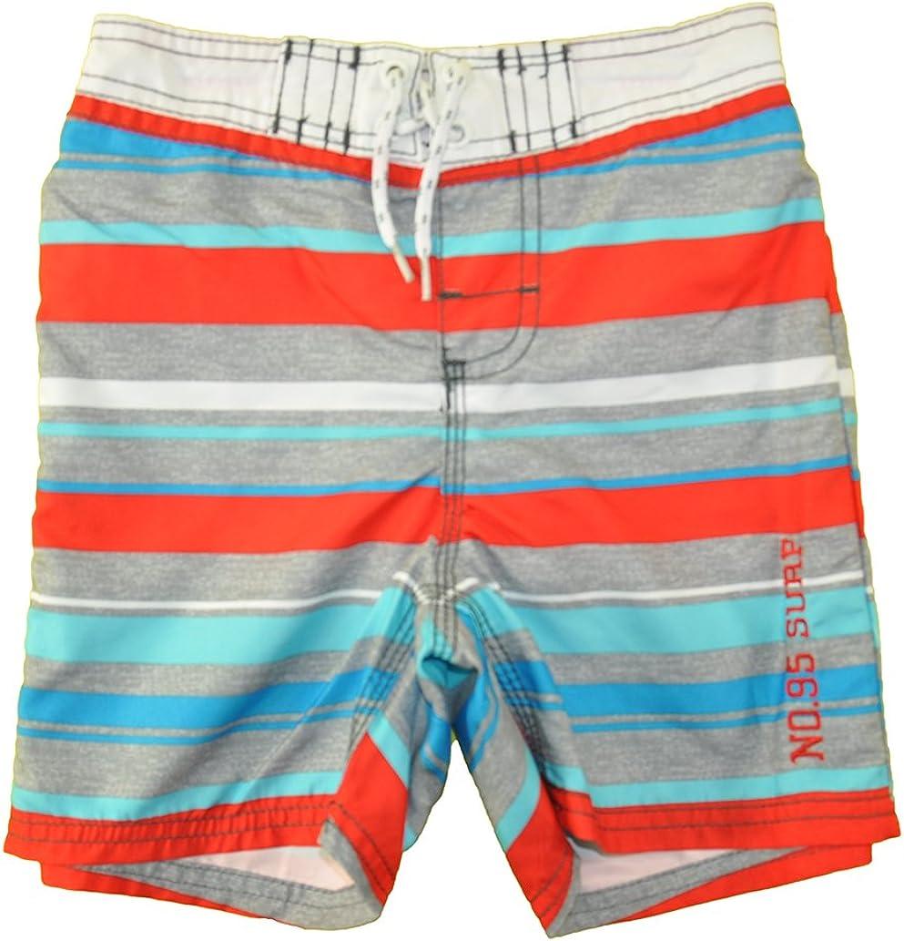 Osh Kosh B/'gosh Toddler Boys Blue Printed Swim Short Size 5T