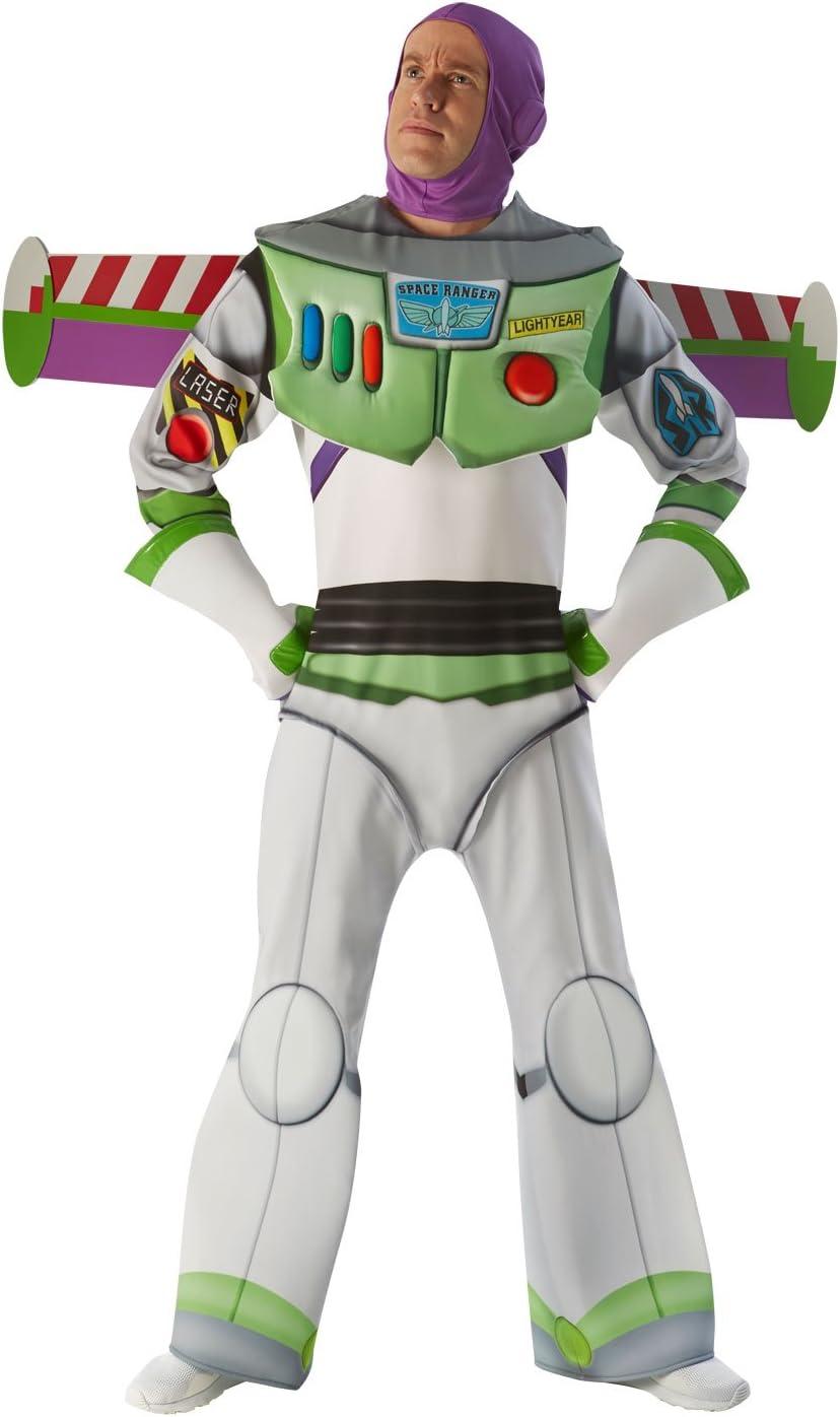 Toy Story - Disfraz de Buzz Lightyear Super Premium para adultos ...