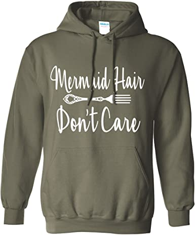 There May Be A Million Fish In The Sea But I/'m A Mermaid Printed Hoodie