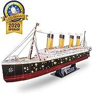 Costruisci il più bello dei puzzle 3D: il Titanic!!! Con i suoi 266 pezzi da assemblare sarà un ottima idea regalo ed una bella sfida da fare per chiunque.