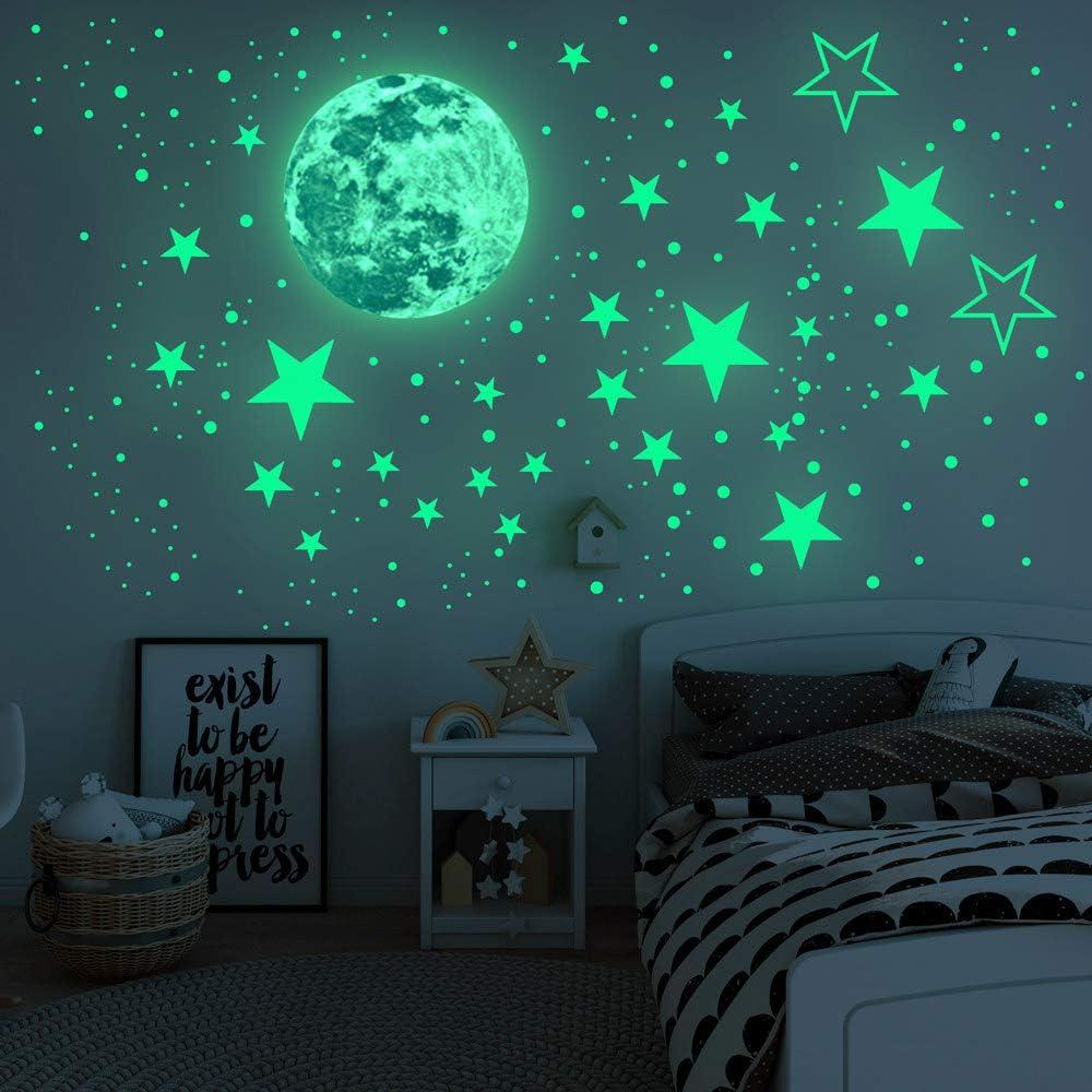 Wall Tattoo Wall Sticker Stars Night Sky Moon
