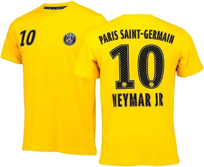 Leve fibra Ondas  PSG - Camiseta oficial Paris Saint-Germain 'Neymar Jr' para hombre -  amarillo - amarillo - X-Large: Amazon.es: Ropa y accesorios
