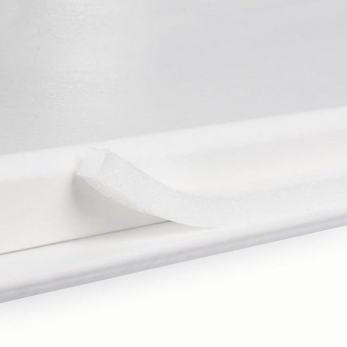 STEIGNER Burlete Espuma Autoadhesiva para Puertas y Ventanas Perfil I 5 x 9 mm, 6 m Blanca, Espuma de Poliuretano: Amazon.es: Bricolaje y herramientas
