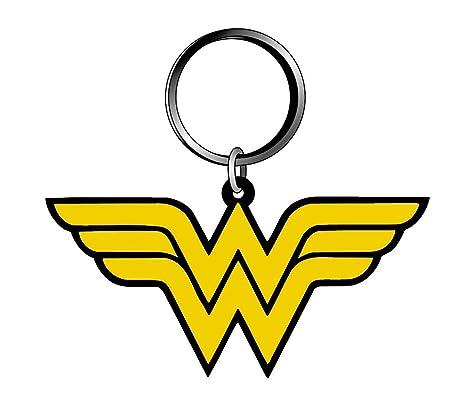 DC Comics 45776 - Llavero de PVC, diseño de Wonder Woman ...