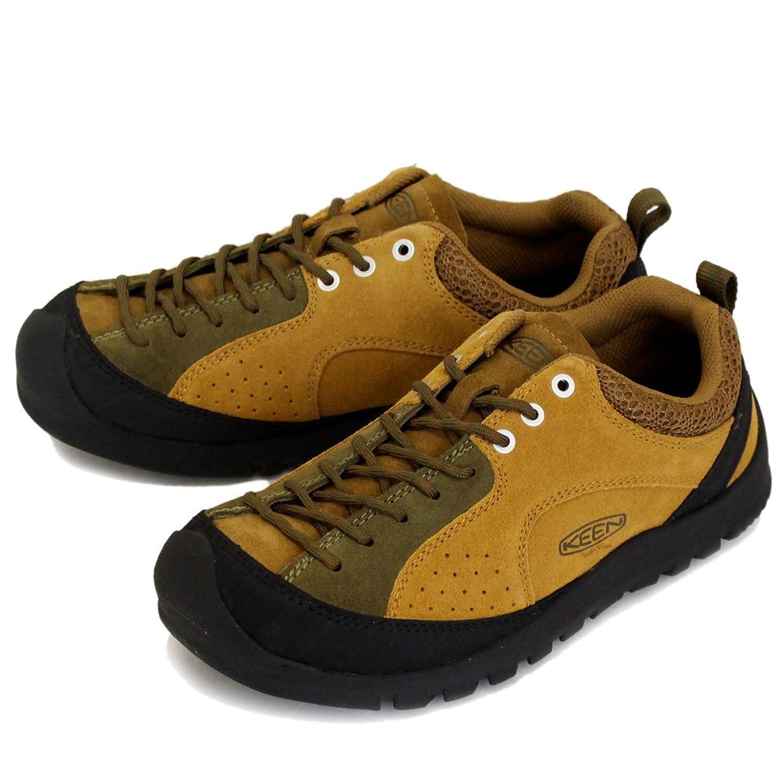 (キーン) KEEN MEN'S 1017661 Jasper Rocks メンズ ジャスパーロックス アウトドアスニーカー Buckthorn Brown/Dark Olive KN232 B078748QDP