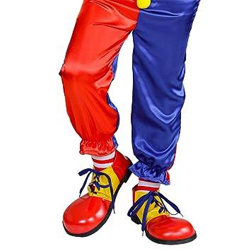 Clownschuhe Clownsschuhe Harlekin Narrenschuhe Amakando Zirkus cqR54j3LA