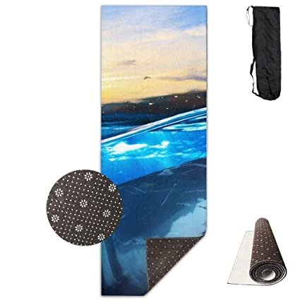 Amazon.com : GirlApron Upgrade Yoga Mat, Fuck The Ocean ...