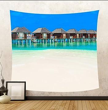 Amazon.com: Huanxidp Tapestries Hermosa Vista Al Mar Silla ...