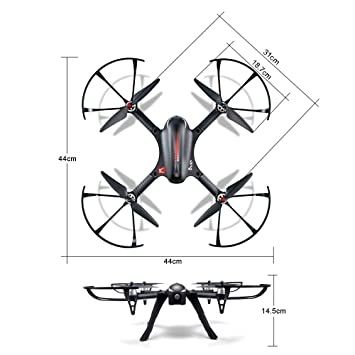 Quadcopter Drone With Camera Carrier