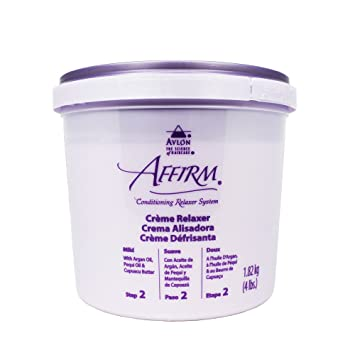 Avlon Affirm Creme Relaxer Mild, 64 Ounce