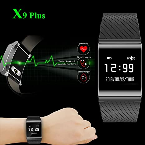 Waterproof Heart Rate Blood Pressure Smart Bluetooth Band Wrist Watch Android LG