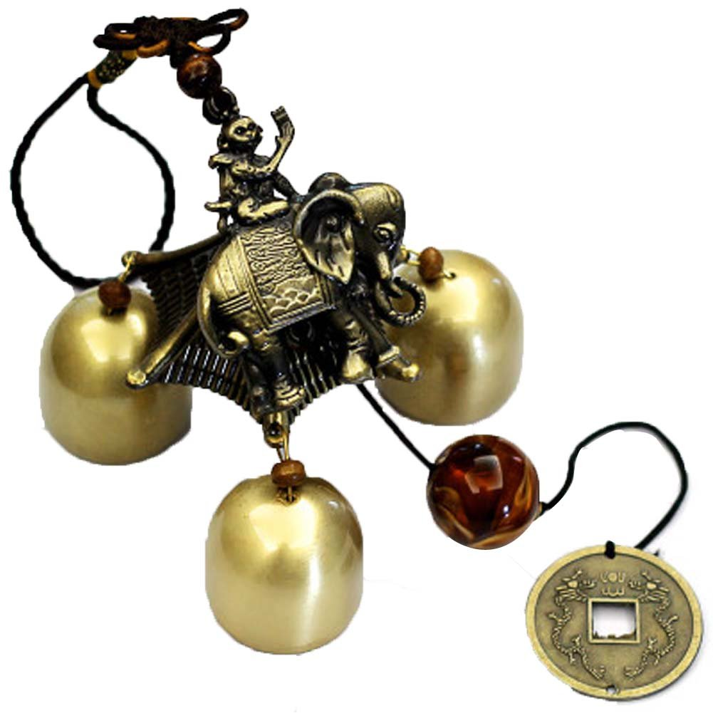 Indoor and Outdoor decoration Small Brass Wind Bells Wind Chime PANDA SUPERSTORE PS-HOM1063302-DORIS00037