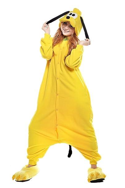 belife unisex-adult Halloween Onesie pijama Cosplay disfraces (S, Goofy)