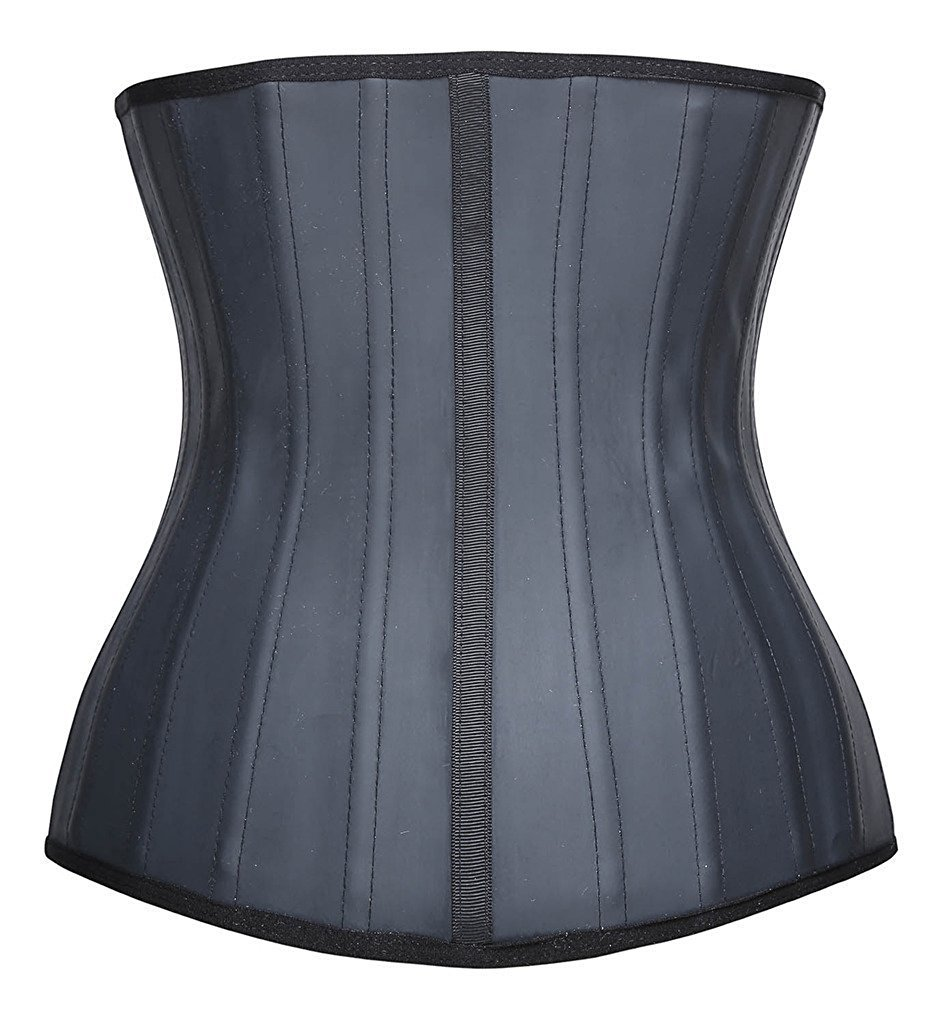 ec1933720fd YIANNA Womens Waist Trainer Underbust 25 Steel Boned Sports Fitness Workout  Hourglass Body Shaper Weight Loss