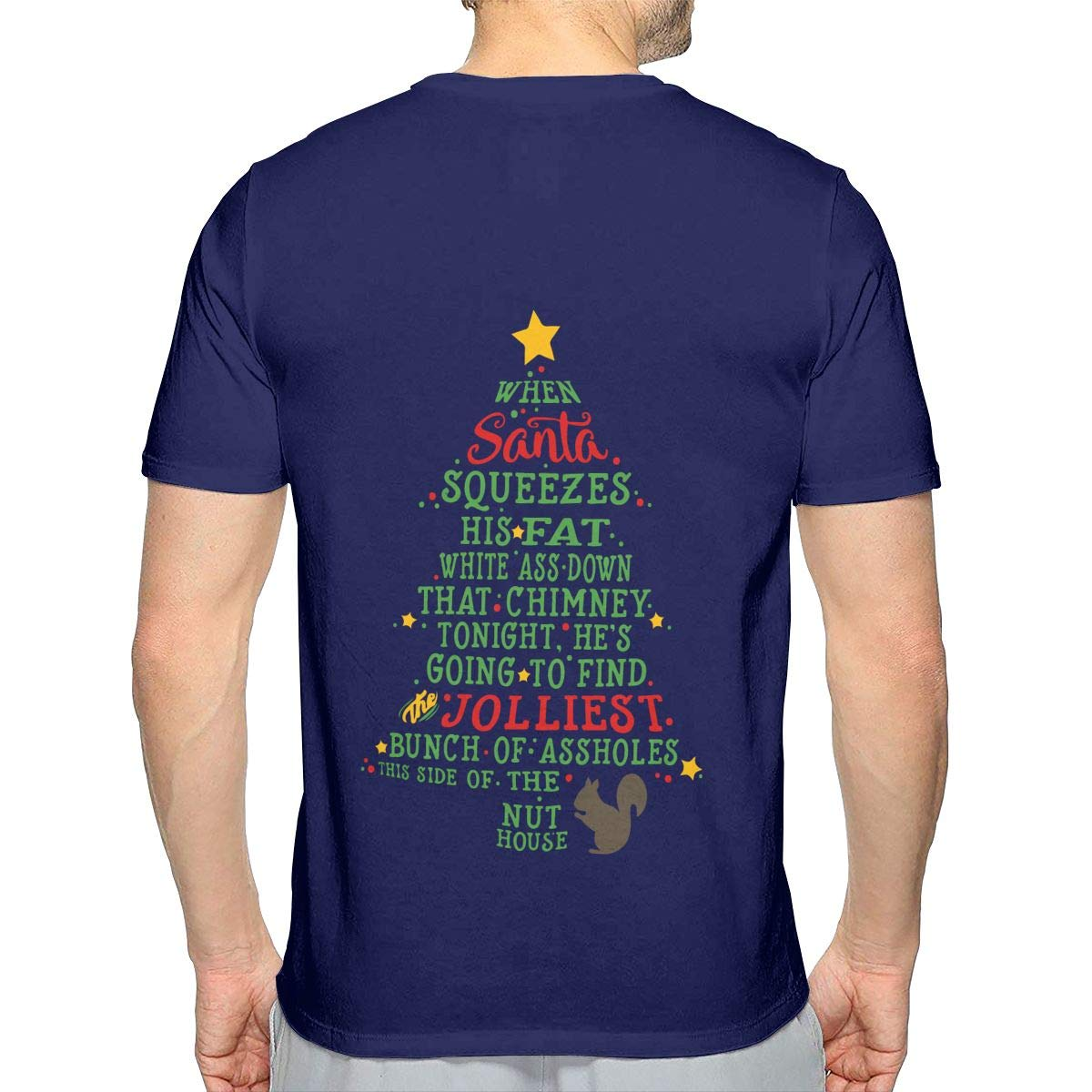 JJKKFG-H Jolliest Bunch of A-Holes Mens Sports Short Sleeve Tshirts