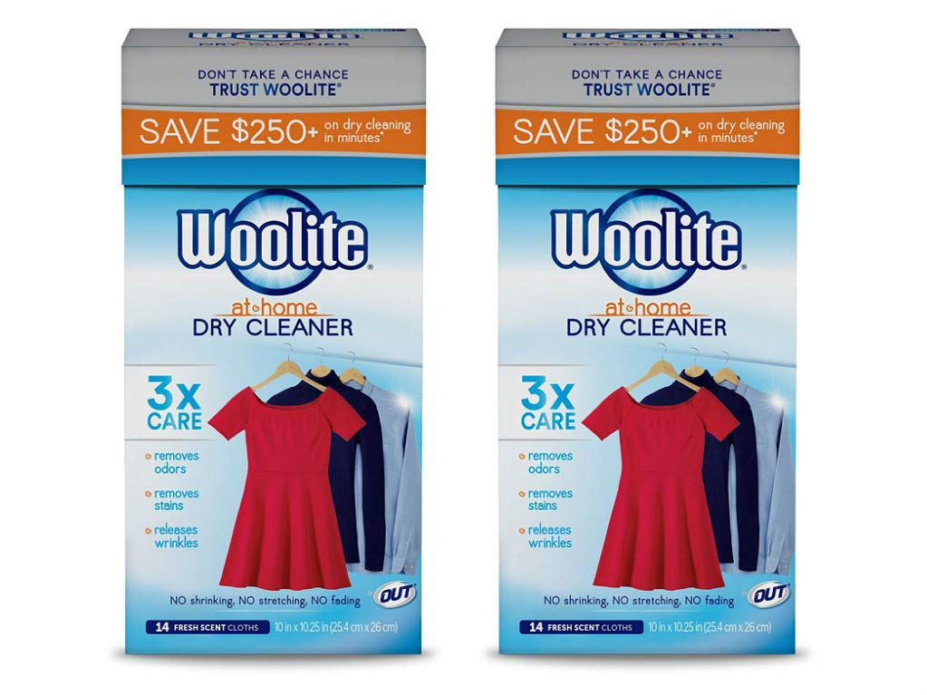 Woolite at-Home Dry Cleaner, Fresh Scent, 28 Cloths by Woolite