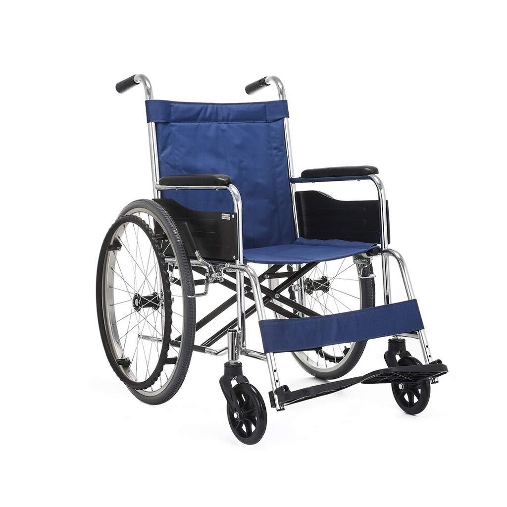 手動車椅子 - - 反射型デザインフットアシストフットプロテクション折りたたみ式高品質障害者の方々に適した 青 スチール素材 (色 : 青) 青 : B07PPRZMN3, ワールドワイド:348de006 --- ijpba.info