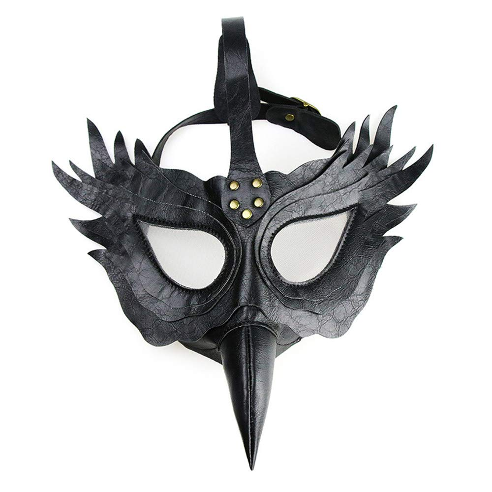 KTYX Steampunk Plague Beak Doctor Mask Máscara