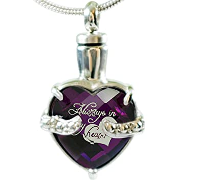 amazon com infinity keepsakes cremation urn necklace for ashes