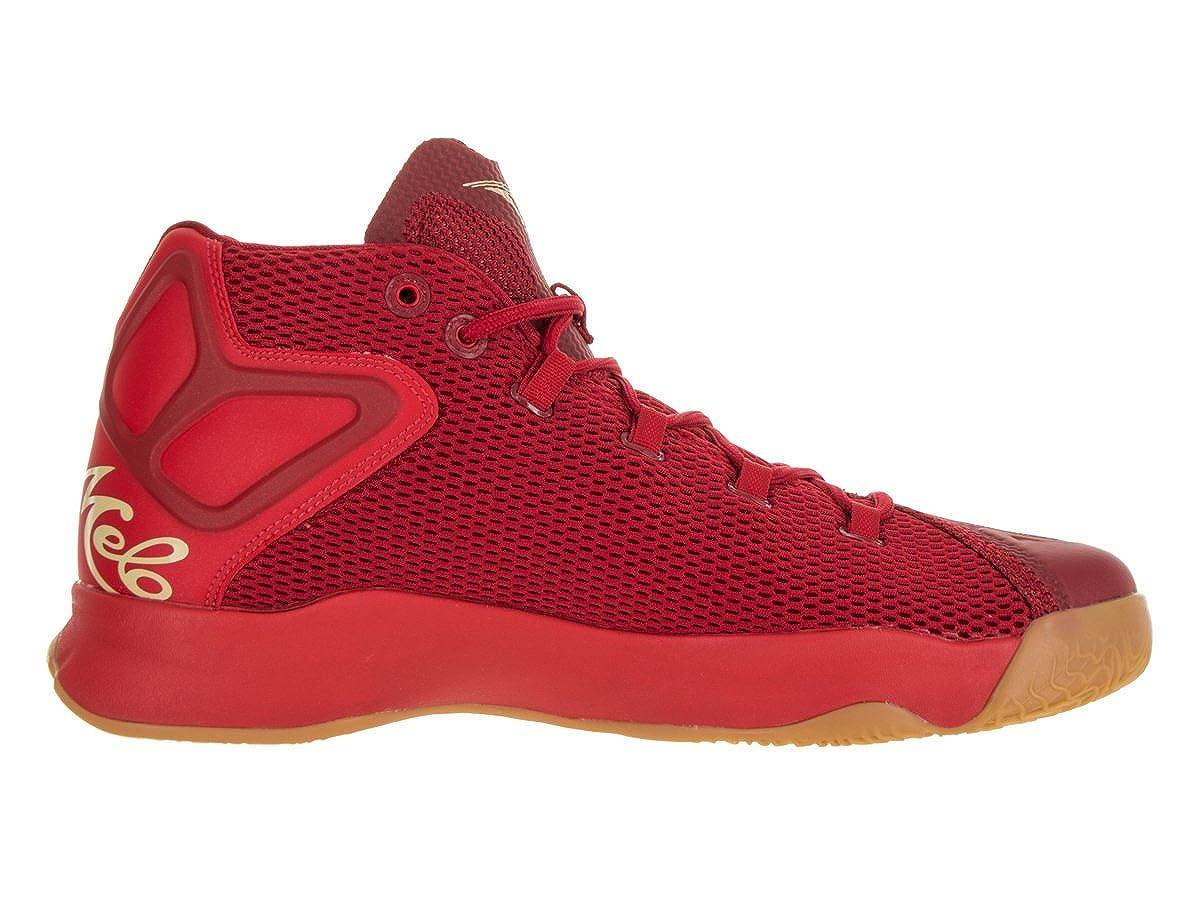 low priced 97d9f 8378c Amazon.com    827176-030  AIR Jordan MELO M12 Mens Sneakers AIR  JORDANBLACK GRN GST MTLC   Basketball