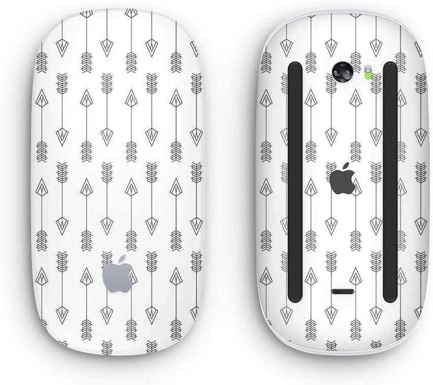 with Multi-Touch Surface Design Skinz Premium Vinyl Decal for The Apple Magic Mouse 2 Vertical Acsending Arrows Wireless, Rechargable