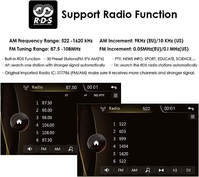 Radio de 7 pulgadas, 1 DIN, reproductor de DVD para BMW Serie 5 ...