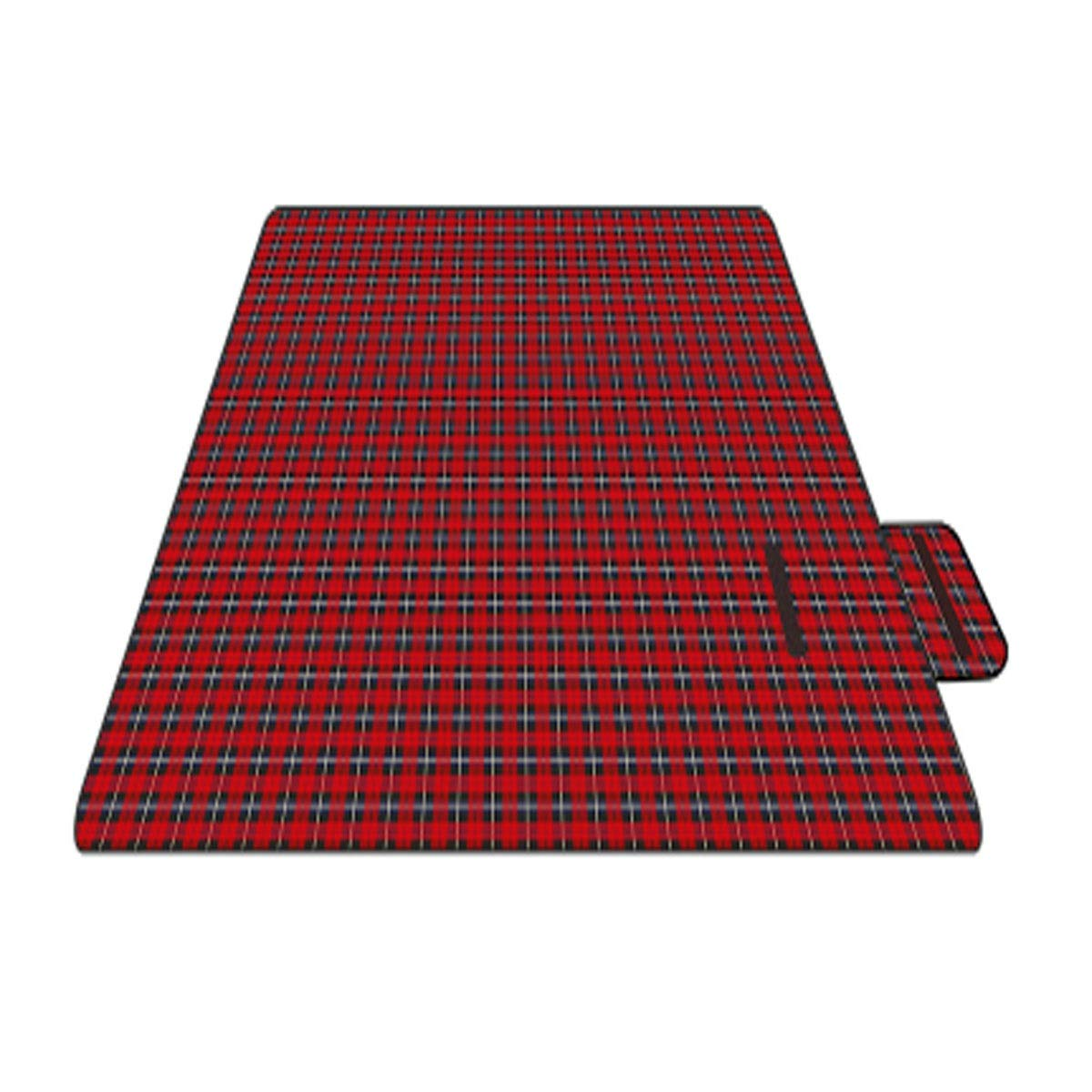 Jingfeng Camping mat, Outdoor Waterproof Beach mat, Picnic mat, Oxford Fabric, 200  150 cm, Suitable for Outdoor Travel (Send Storage Bag) Beautiful (Size   200  150cm, Style   A003)