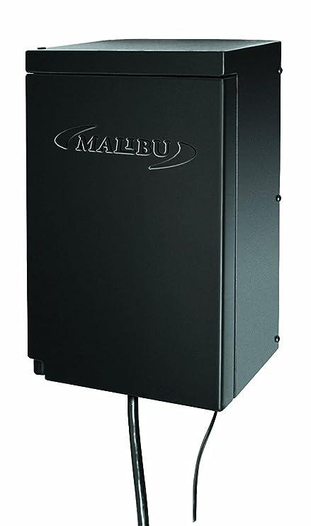 malibu 200 watt power pack with sensor and weather shield for low rh amazon com