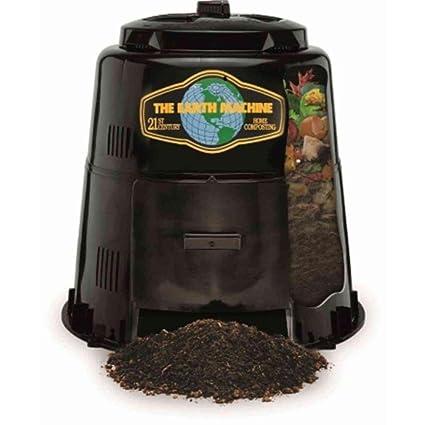 Amazon.com: La Tierra máquina compostador: Jardín y Exteriores