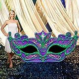 Stumps Mardi Gras Mask Party Prop
