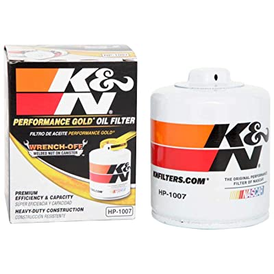 K&N Premium Oil Filter: Designed to Protect your Engine: Fits Select CHEVROLET/GMC/BUICK/CADILLAC Vehicle Models (See Product Description for Full List of Compatible Vehicles), HP-1007: Automotive [5Bkhe0405471]