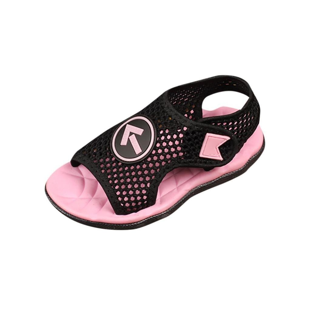 Malloom 1-7 a/ños Infantil ni/ños ni/ñas Chicas Suave Malla Sandalias Playa mar Zapatillas Casuales Zapatos