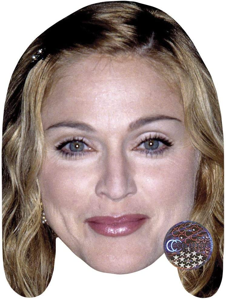 Young Britney Spears Celebrity Mask Card Face and Fancy Dress Mask