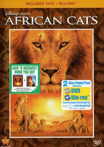Disneynature: African Cats (Two-Disc Blu-ray / DVD Combo in DVD ()