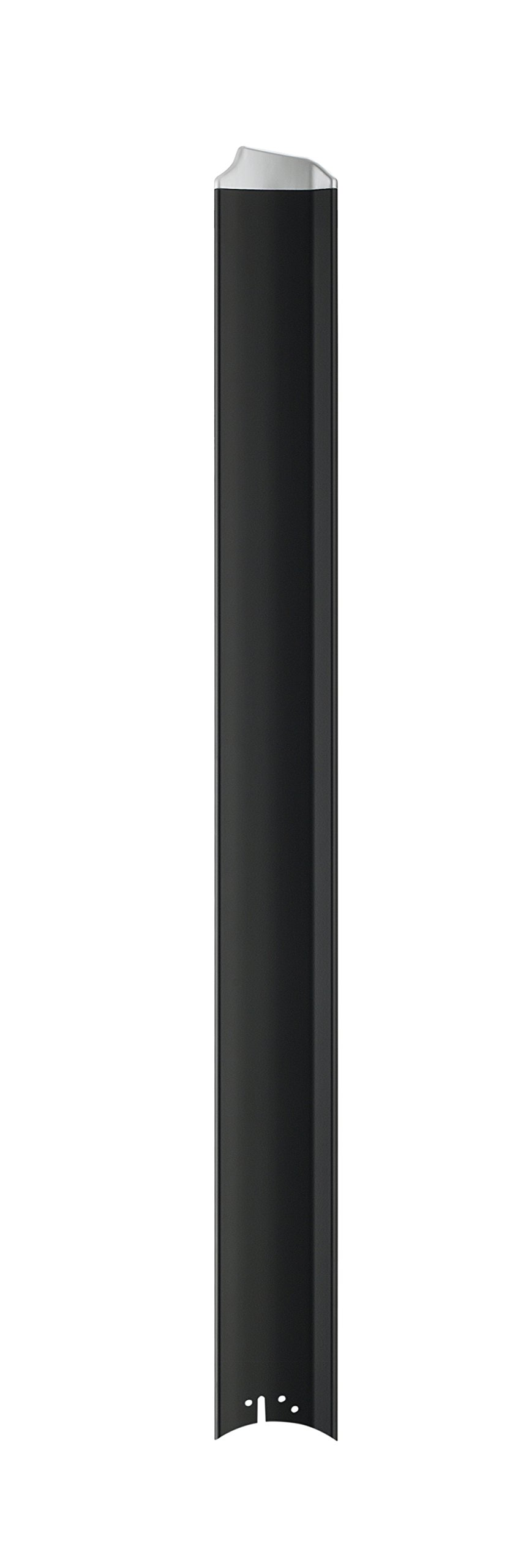 Fanimation B7997-72BLW Fan Blades, Black with Silver Tip
