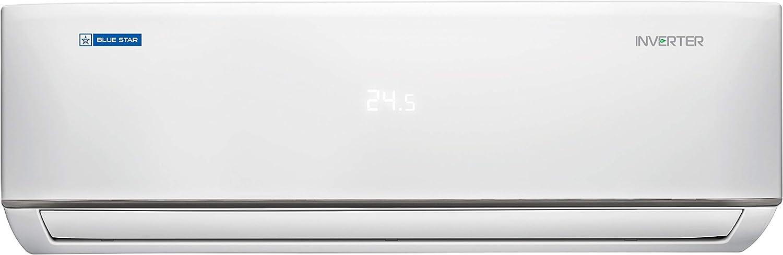 Blue Star 1.5 Ton 5 Star Inverter Split AC (Copper IC518DBTU White)